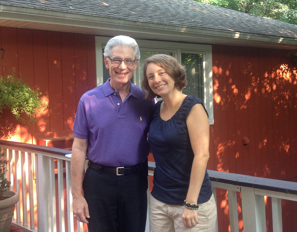 Dr. Brian Weiss and Courtney Starkey